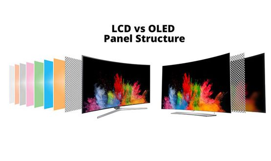 SO SÁNH OLED TV - LED TV